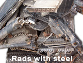 Rads with steel